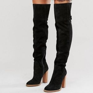 Thigh High Suede boot